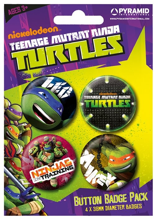 TURTLES Badge Pack