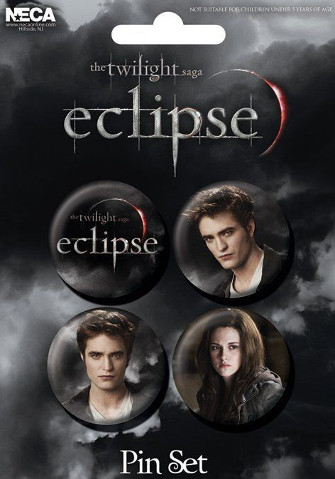 TWILIGHT ECLIPSE Badge Pack