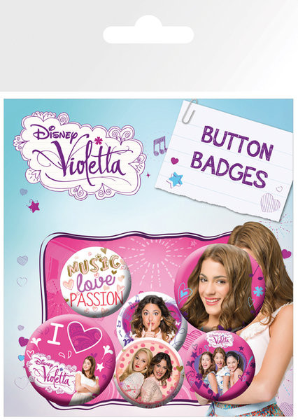 VIOLETTA - This Is Me Badge Pack