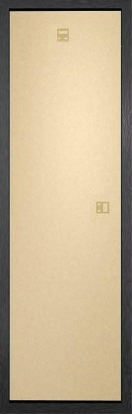 Moldura Moldura - Slim Poster 30,5x91,5cm preto MDF