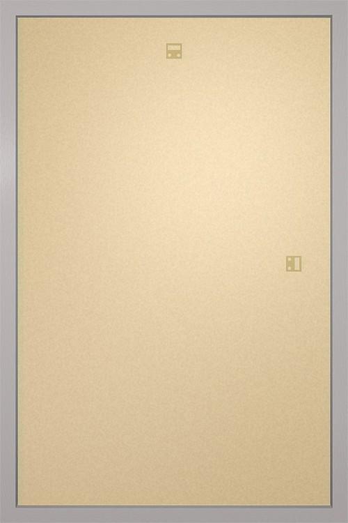 Kehys - Juliste 61x91,5cm hopea MDF