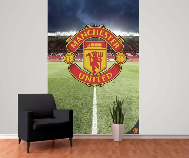 manchester united fc wall mural buy at abposters com wall murals manchester united pixersize com