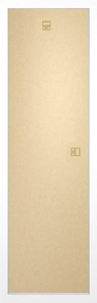 FrameFrame - Slim poster 30,5x91,5cm White Fibreboard