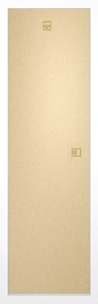 Moldura - Slim Poster 30,5x91,5cm branco MDF