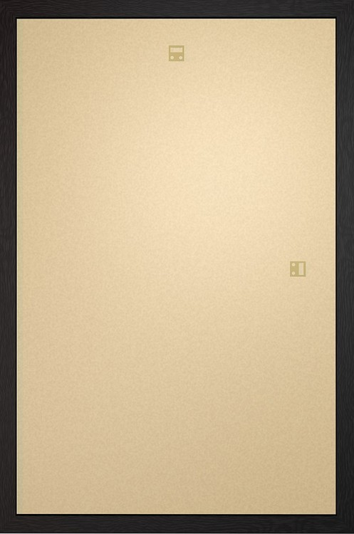 Cadre - Affiche Art 60x80cm Aggloméré noir