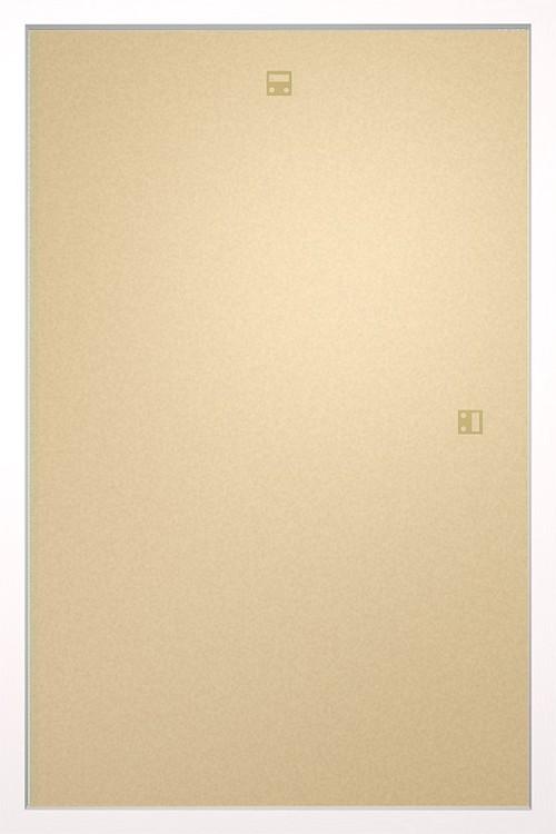 Cadre - Affiche Art 60x80cm Aggloméré blanc Cadre