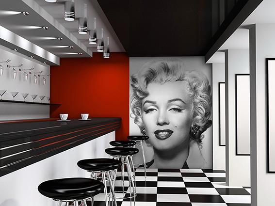 marilyn monroe wall mural buy at europosters pop decors marilyn monroe wall mural wayfair