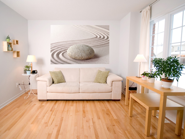 Zen stone wall mural buy at europosters for Poster mural geant zen