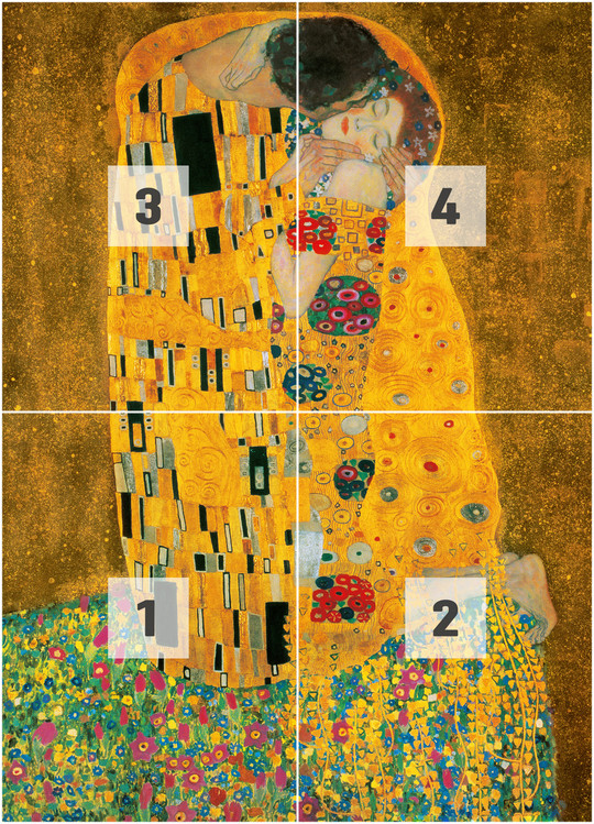 Klimt The Kiss Wallpaper GUSTAV KLIMT - The Kis...