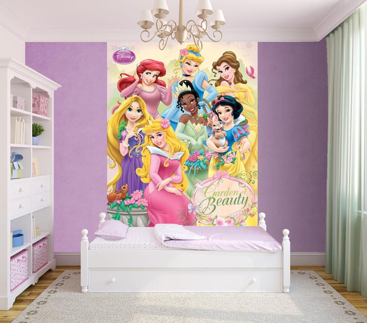 Disney princess wall mural buy at europosters for Disney princess mini mural