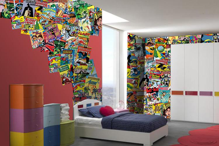 Murais de parede comics em - Papel pared comic ...