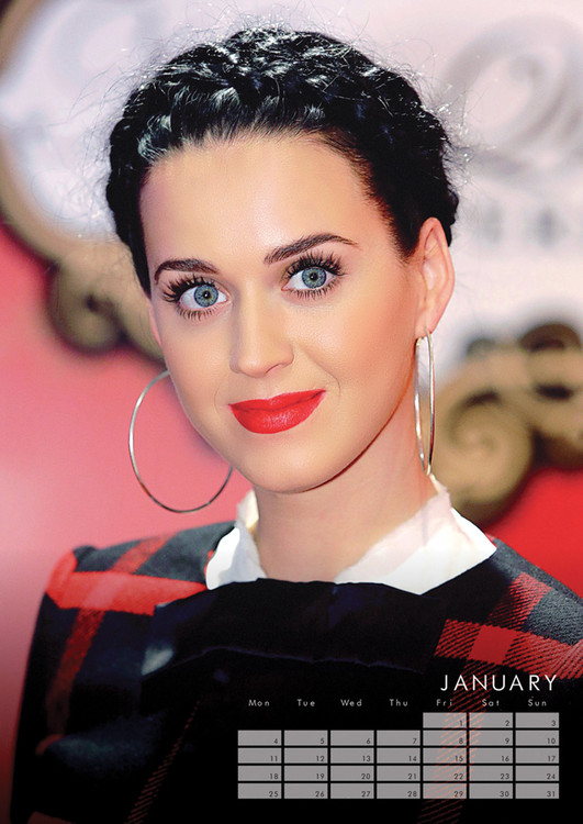 Katy Perry - Calendars 2017 on EuroPosters
