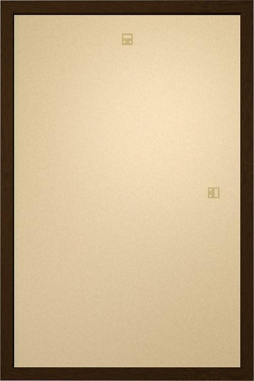 Cadre - Affiche Art 60x80cm Aggloméré noix Cadre