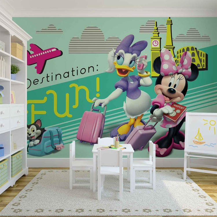 Disney Minnie Mouse Wallpaper Mural. Facebook Google Pinterest. Original  Price: Part 97