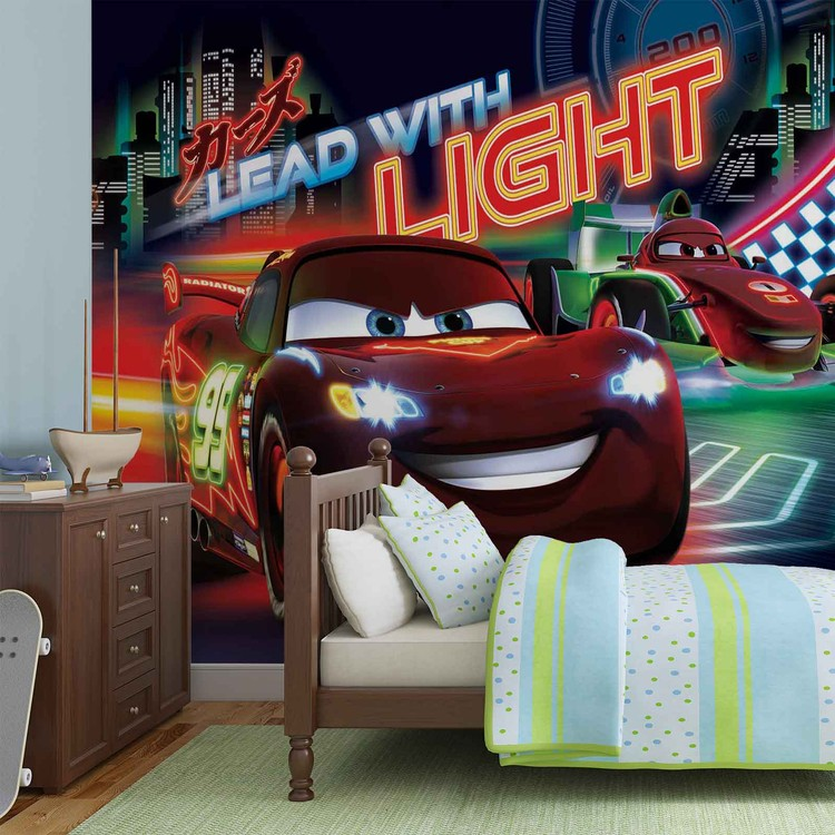 Disney Cars Lightning McQueen Bernoulli Wallpaper Mural. Facebook Google  Pinterest. Original Price: Part 95