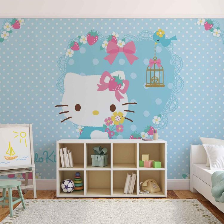 Marvelous Hello Kitty Wallpaper Mural. Facebook Google Pinterest. Price From: