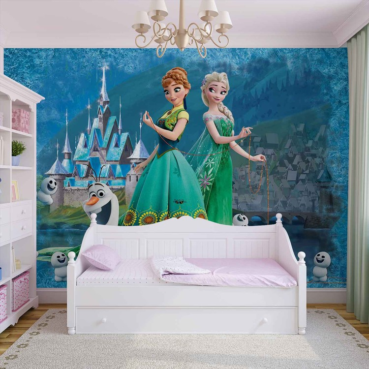 Disney Frozen Wallpaper Mural. Facebook Google Pinterest. Original Price: Part 24