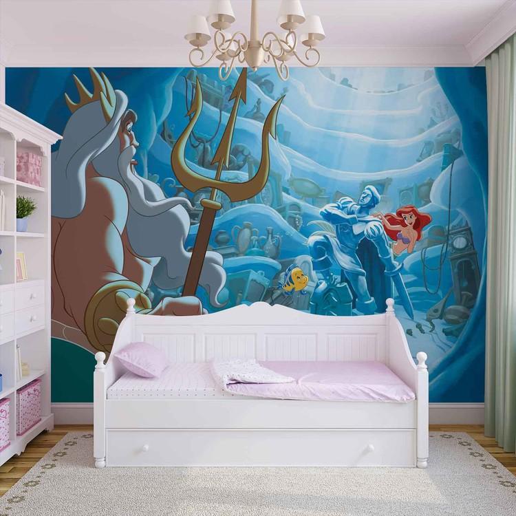 Disney Little Mermaid Wallpaper Mural · Facebook Google Pinterest. Original  Price: Part 36