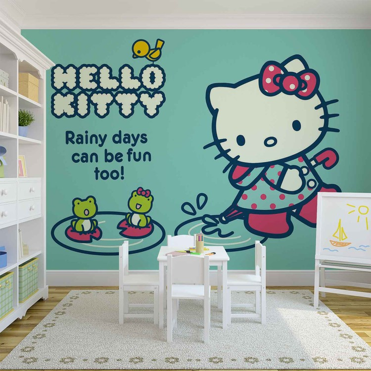 Hello Kitty Wallpaper Mural · Facebook Google Pinterest. Price From: Part 95