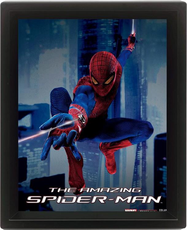 SPIDER-MAN 3D kehystetty juliste