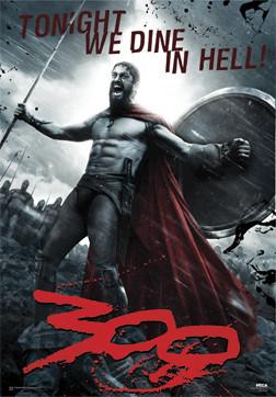 3D poster  300 - Leonidas 3D