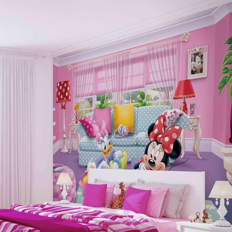 Disney Minnie Mouse Wallpaper Mural. Facebook Google Pinterest. Original  Price: Part 38