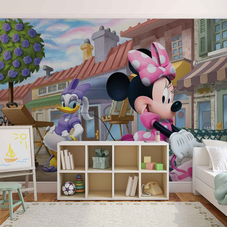 Disney Minnie Mouse Wallpaper Mural · Facebook Google Pinterest. Original  Price: Part 52