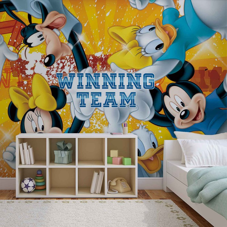 Disney Mickey Mouse Wallpaper Mural · Facebook Google Pinterest. Price From: