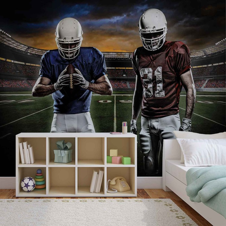 American Football Stadium Wallpaper Mural · Facebook Google Pinterest.  Original Price: Part 69