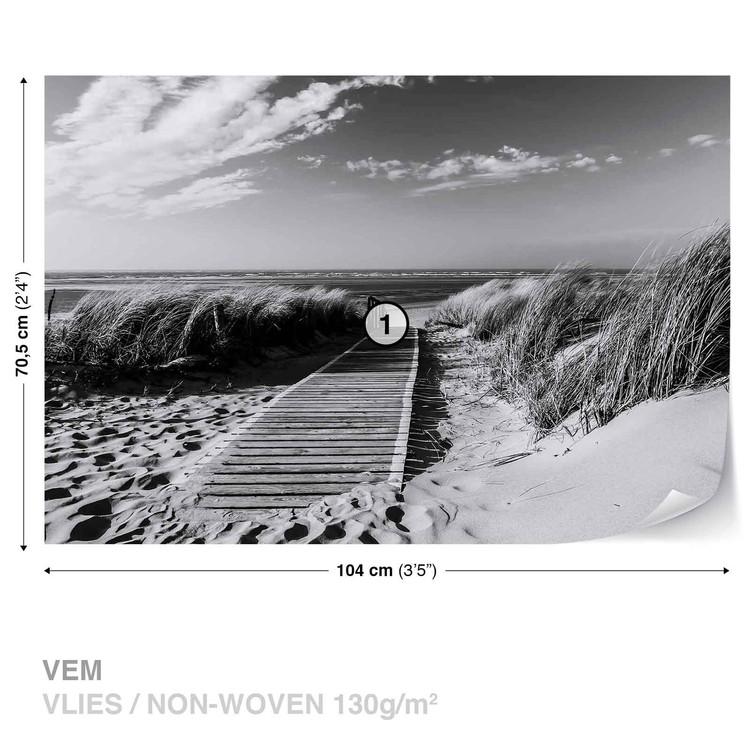 Beach Scene Wallpaper Mural. Facebook Google Pinterest. Original Price: