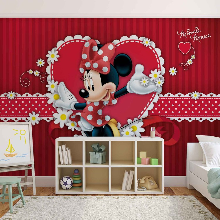 Disney Minnie Mouse Wallpaper Mural. Facebook Google Pinterest. Original  Price: Part 36
