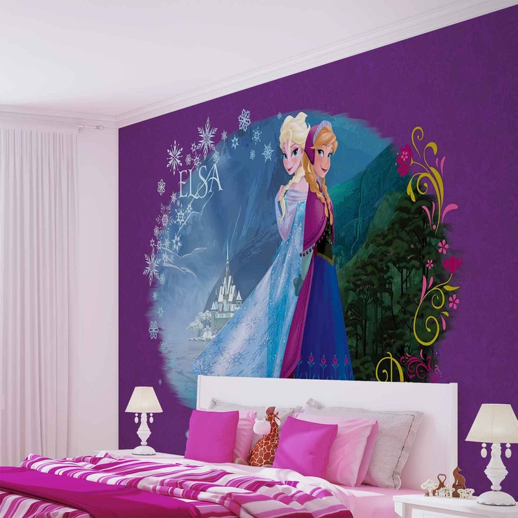 Attractive Disney Frozen Wallpaper Mural. Facebook Google Pinterest. Original Price: Part 31