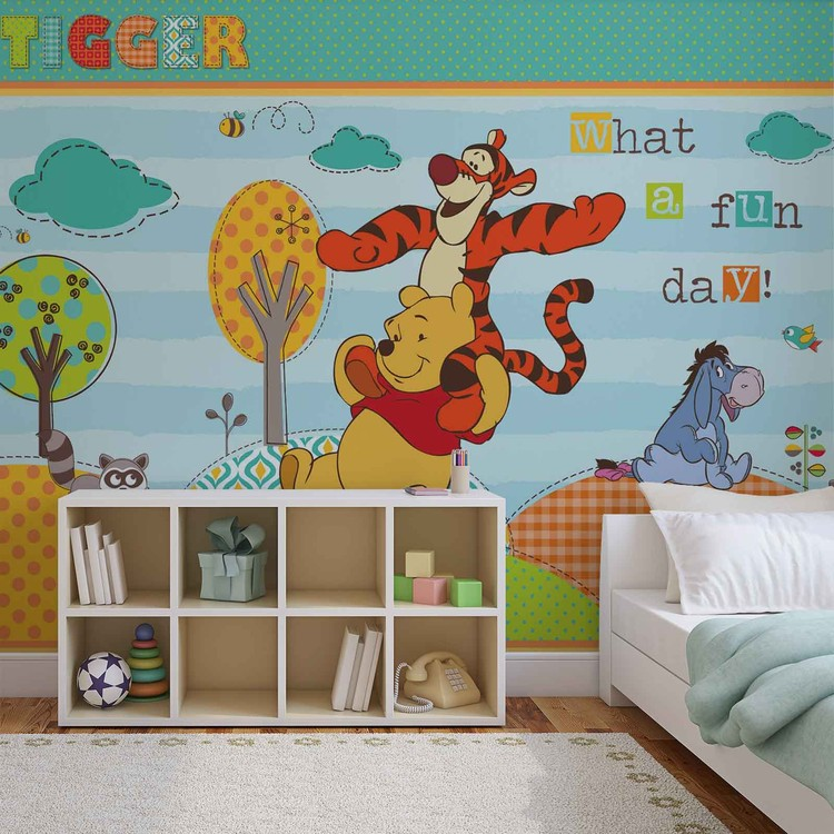 Disney Winnie Pooh Wallpaper Mural · Facebook Google Pinterest. Original  Price: Part 80