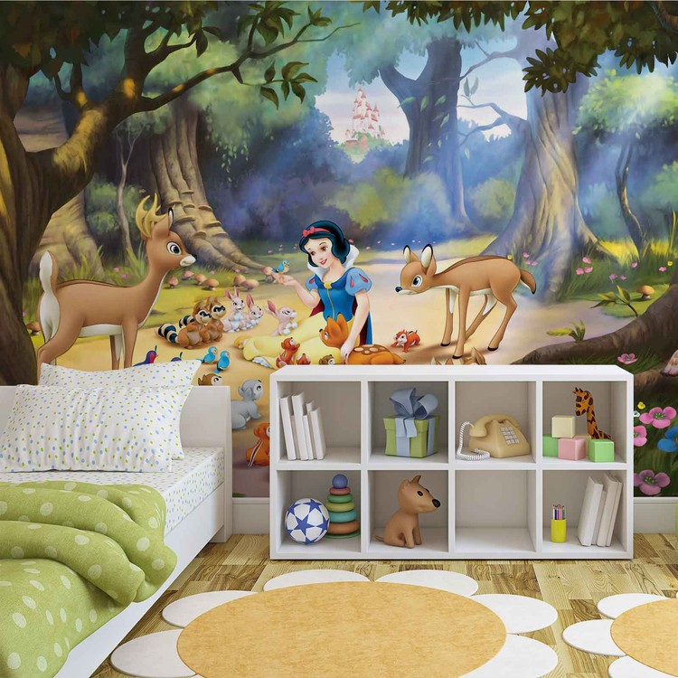 Disney Princesses Snow White Wallpaper Mural · Facebook Google Pinterest.  Original Price: Part 23