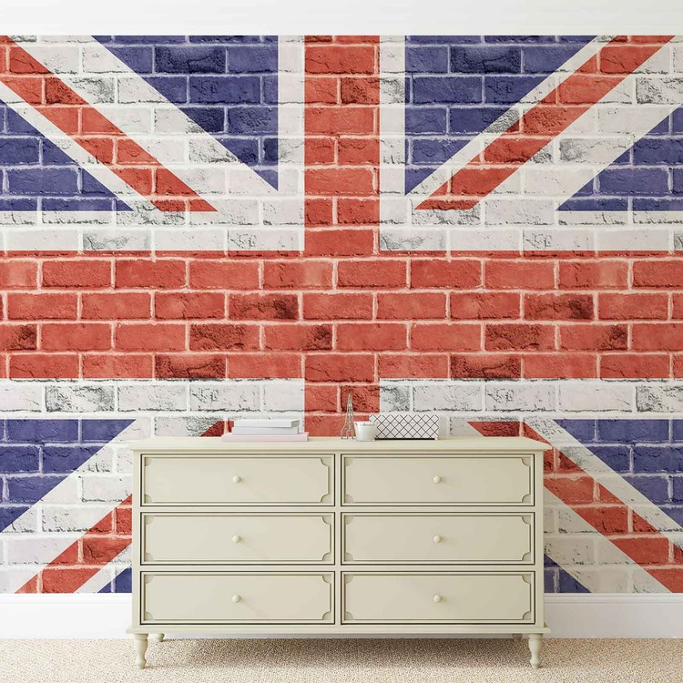 brick wall union jack wall mural for your home buy at brick wall union jack wall mural for your home buy at