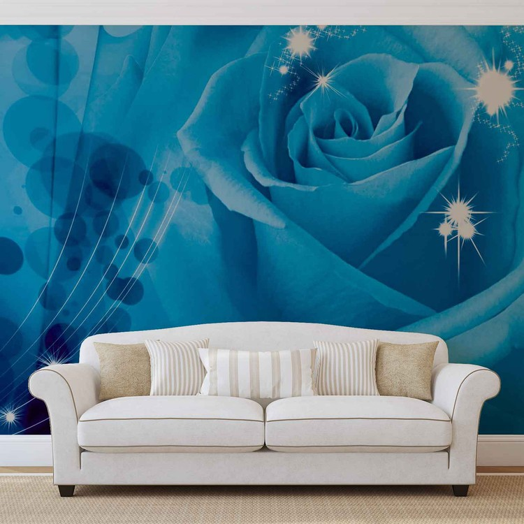 castle rose wall mural - photo #10