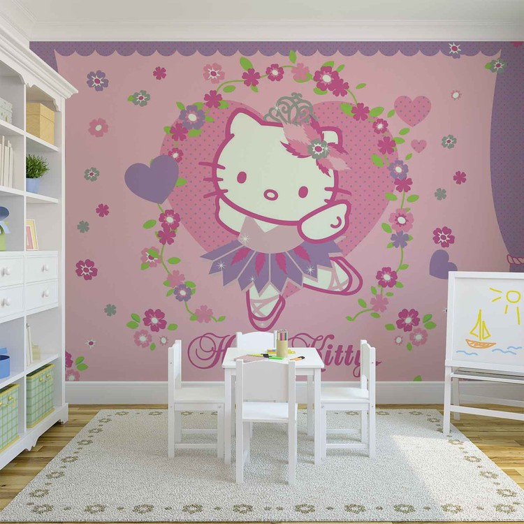 hello kitty wall mural for your home buy at abposters com hello kitty wall mural photo wallpaper 1806dk ebay