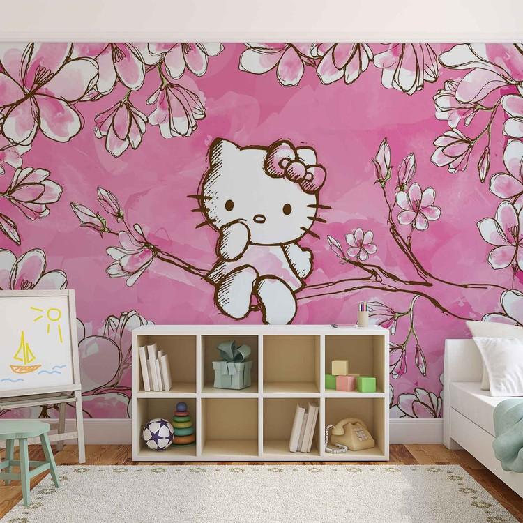 Hello Kitty Wallpaper Mural. Facebook Google Pinterest. Original Price: Part 38