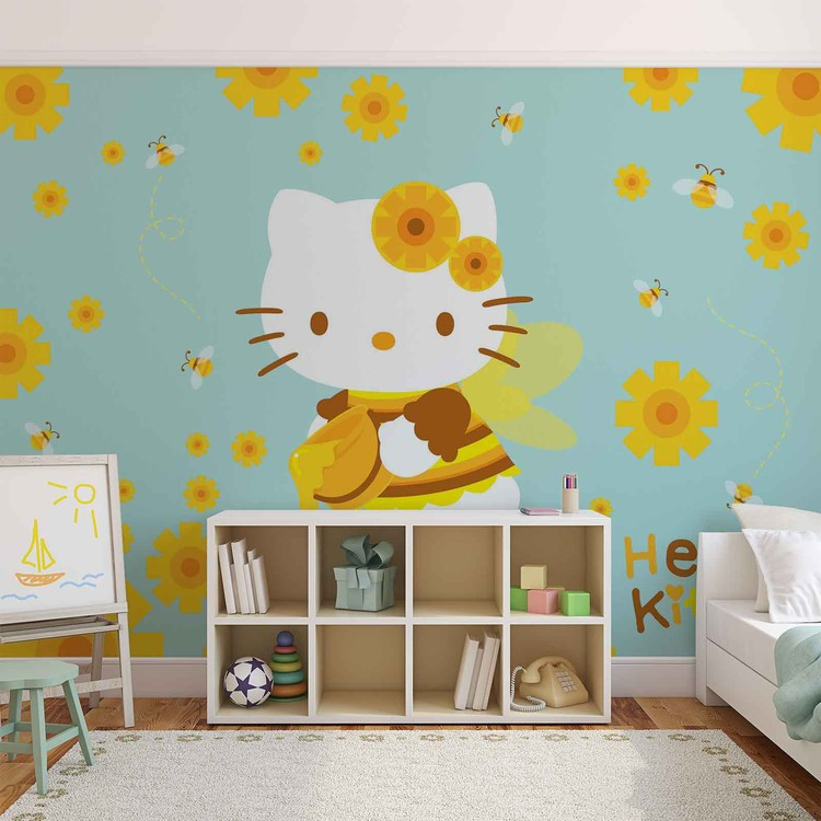 hello kitty wall mural for your home buy at europosters hello kitty wall mural for your home buy at abposters com