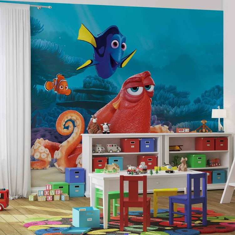 Disney Finding Nemo Dory Wallpaper Mural. Facebook Google Pinterest. Price: Part 47