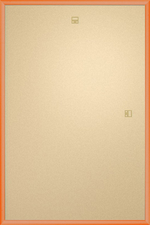 Frame - Poster 61x91,5cm Orange - Plastic
