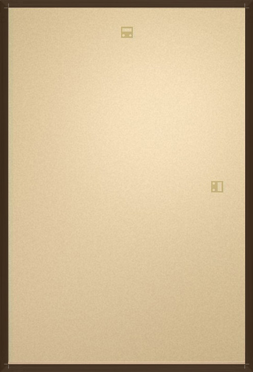 Frame - Poster 61x91,5cm Brown - Pino