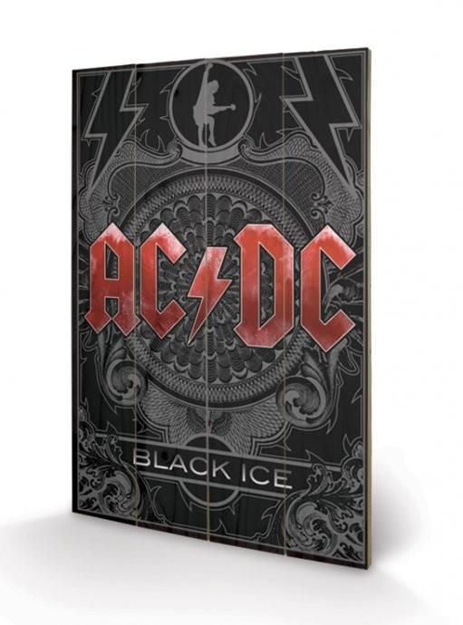 AC-DC - Black Ice Panneaux en Bois