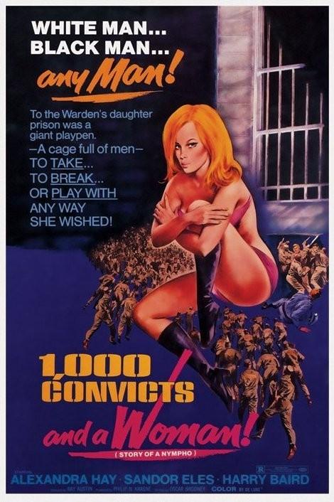 1000 CONVICTS AND A WOMAN - 1000 convictos y una mujer Affiche