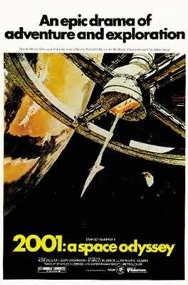 2001, l'Odyssée de l'espace Affiche