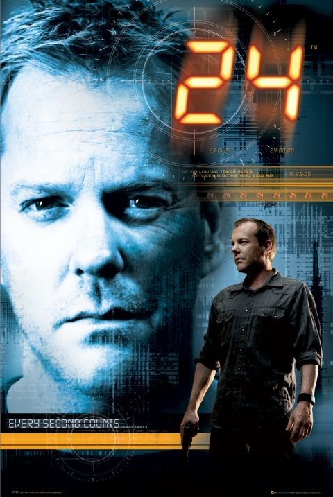 24 HODIN - every sacond Affiche