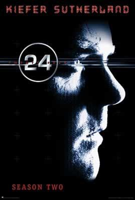 24 SEASON 2 - Kiefer Sutherland Affiche
