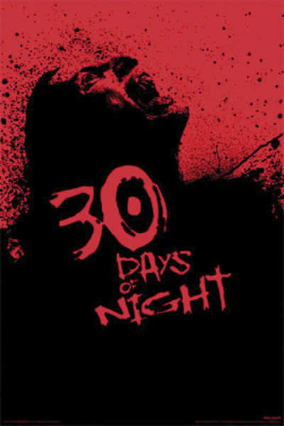 30 JOURS DE NUIT - screaming zombie Affiche
