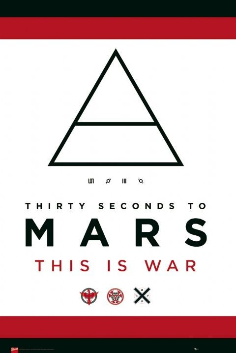 30 Second to Mars - this is Affiche