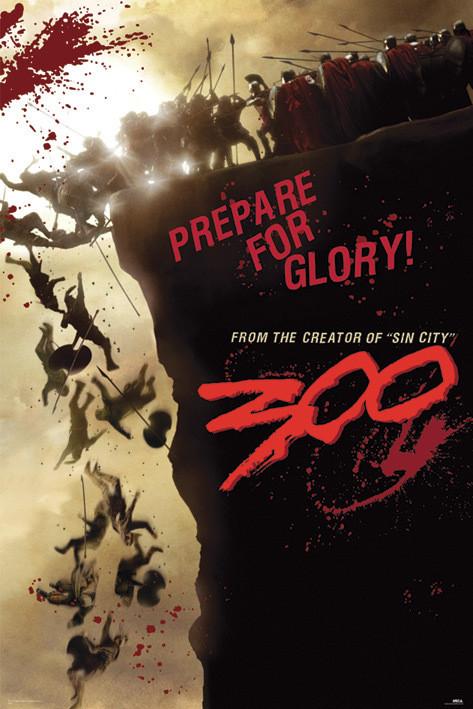 300 - cliff Affiche